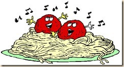 singing meatballs