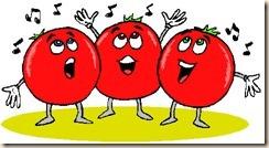 singing tomatoes