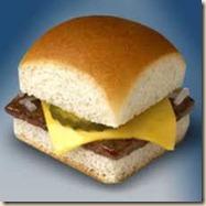 white castle burger