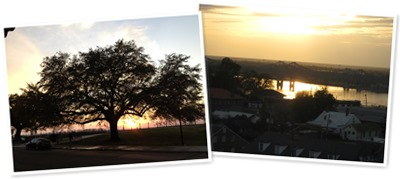 View Natchez Sunset