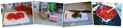 View Making Tomato Basil Jam