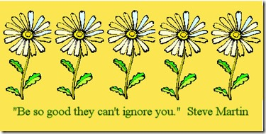 daisy chain quote gold bg