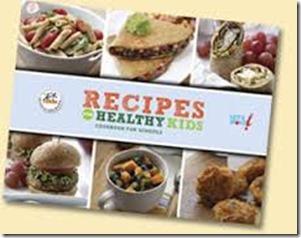 recipe for healthy kids cookbook