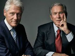 clinton-and-bush