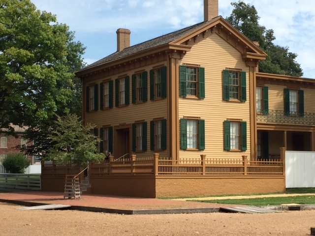 Lincoln's Home in Springfield, Illinois